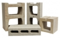 Hollow concrete block 10